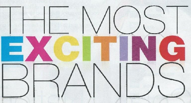 Most Exciting Brands