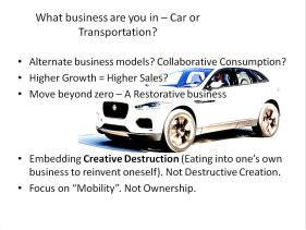 Redefining your business